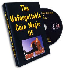 Unforgettable Coin Magic Cody Fisher, DVD