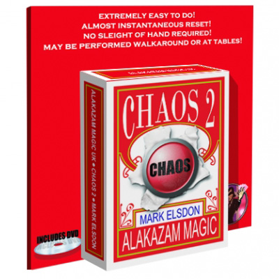 Chaos 2 (con DVD) - Mark Elsdon & Alakazam Magic