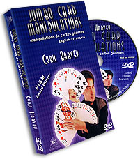 Jumbo Card Manipulation Harvey, DVD