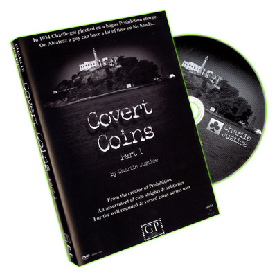Covert Coins by Charlie Justice - DVD