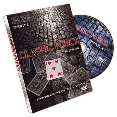 Classic Force by Phil Jay and JB Magic - DVD