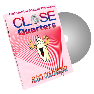 Close Quarters by Wild-Colombini Magic - DVD