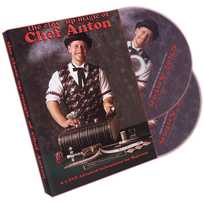 The Close-Up Magic of Chef Anton (2 DVD Set) - DVD