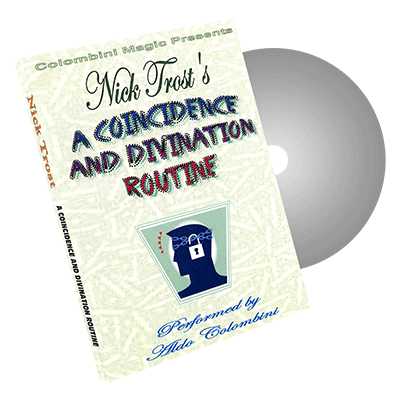 A Coincidence and Divination Routine by Wild-Colombini Magic - DVD