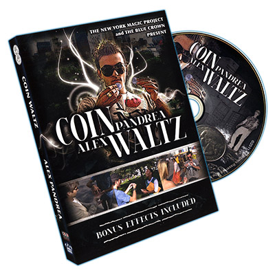 Coin Waltz (DVD and Gimmick)by Alex Pandrea and The Blue Crown - DVD