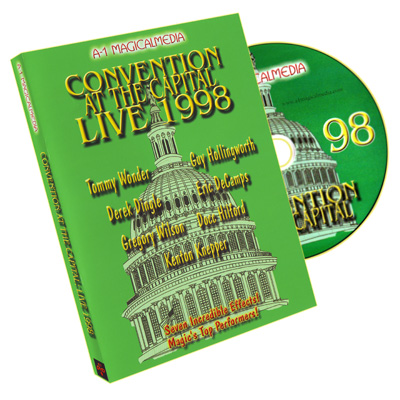 Convention at the Capital 1998- A-1, DVD