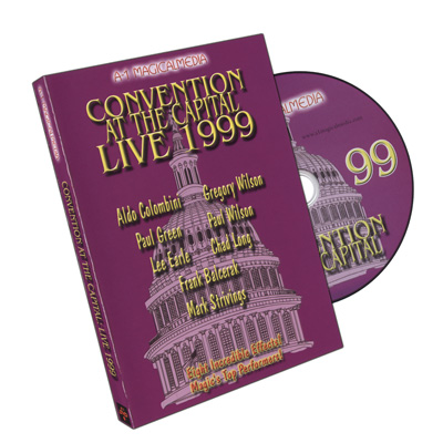 Convention At The Capital 1999 by A-1 Magical Media - DVD