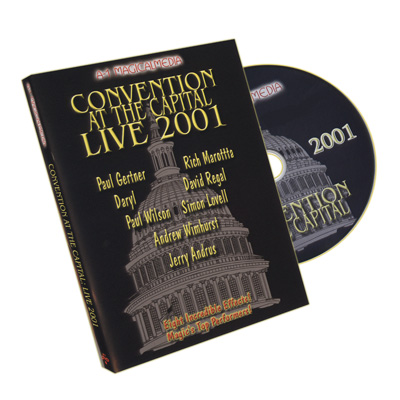 Convention At The Capital 2001 by A-1 Magical Media - DVD