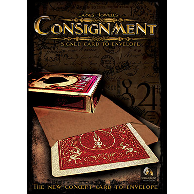 Consignment (Gimmicks and DVD) by James Howells and World Magic Shop - DVD