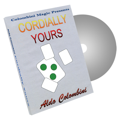 Cordially Yours by Wild-Colombini Magic - DVD