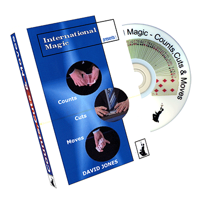 Counts, Cuts & Moves by International Magic - DVD