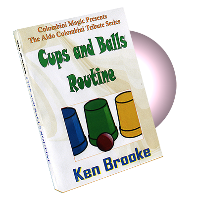 Cups & Balls Routine - Ken Brooke & Wild Colombini - DVD