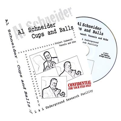 Al Schneider Cups & Balls - L&L Publishing - DVD