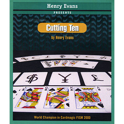 Cutting Ten (Cards and DVD) by Henry Evans - DVD