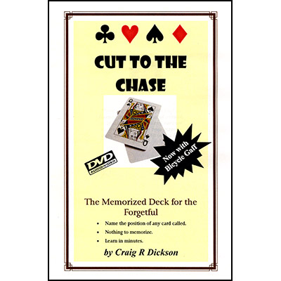 Cut to the Chase by Craig R. Dickson - DVD