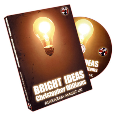 Bright Ideas by Christopher Williams & Alakazam - DVD