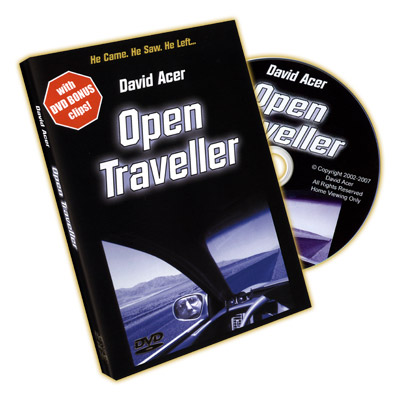 Open Traveller by David Acer