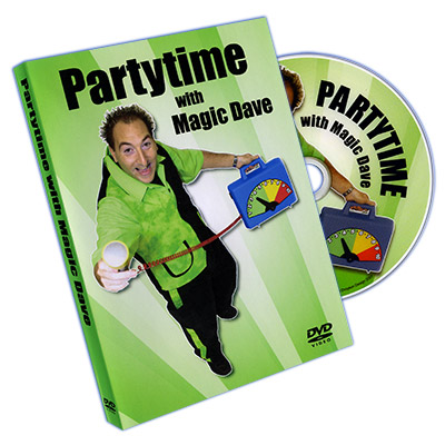 Partytime With Magic Dave by Dave Allen - DVD