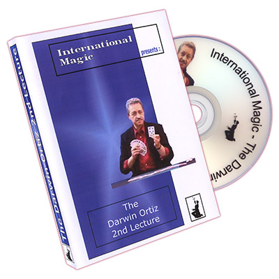 The Darwin Ortiz 2nd Lecture by International Magic - DVD