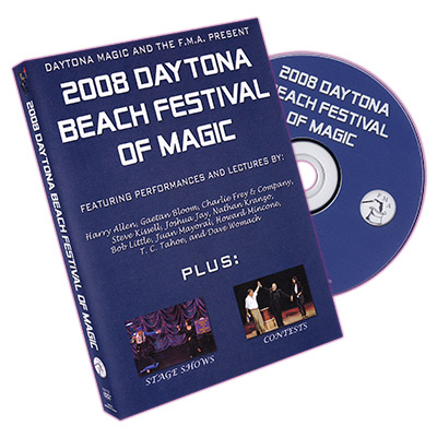 Daytona Beach Festival of Magic 2008 by Daytona Magic Inc. - DVD