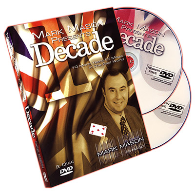 Decade (2 DVD Set) by Mark Mason - DVD