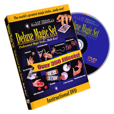 Deluxe Magic Set Instructional DVD - DVD