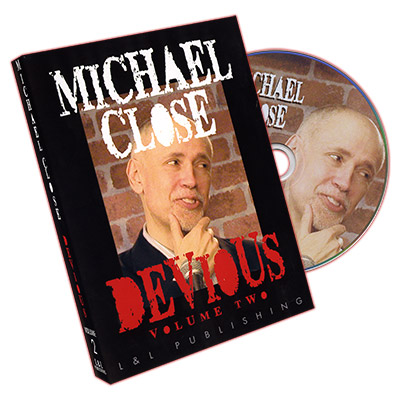 Devious Volume 2 by Michael Close and L&L Publishing - DVD