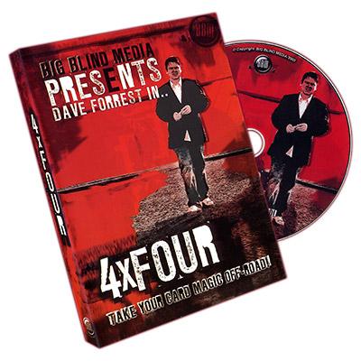 4 X Four by Dave Forrest & Big Blind Media - DVD