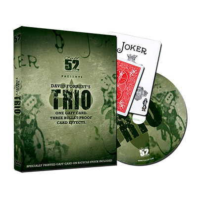 Trio (With Gaffs) by David Forrest - DVD