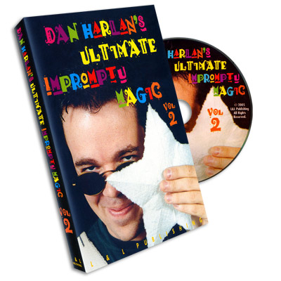 Ultimate Impromptu Magic  Vol 2 by Dan Harlan - DVD