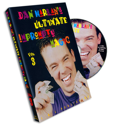 Ultimate Impromptu Magic Vol 3 by Dan Harlan - DVD