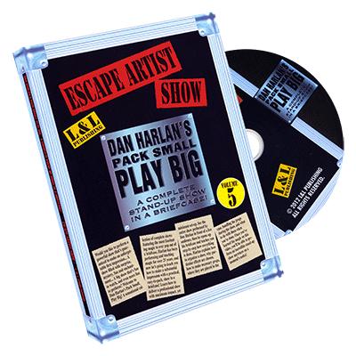 Harlan Escape Artist Show - DVD
