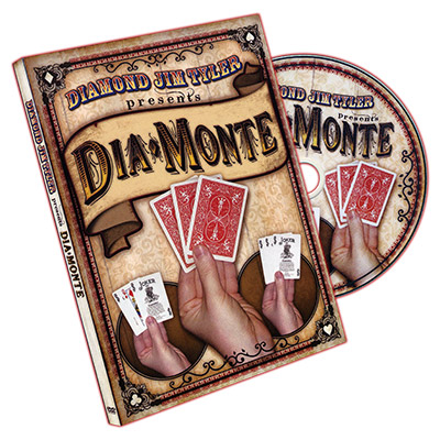 DiaMonte (DVD & Cartas) - Diamond Jim Tyler