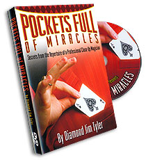 Pockets Full of Miracles by Diamond Jim Tyler - DVD