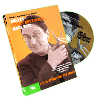 Expert Rope Magic Made Easy by Daryl- #2, DVD