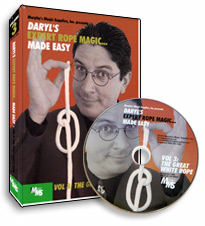 Expert Rope Magic Made Easy by Daryl - #3, DVD