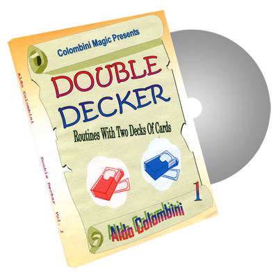 Double Decker Volume 1 by Wild-Colombini Magic - DVD
