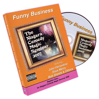 Funny Business - Niagara Comedy Magic Seminar 2007 by David Peck and Anthony Lindan - DVD