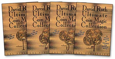 Roth Ultimate Coin Magic Collection- #4, DVD