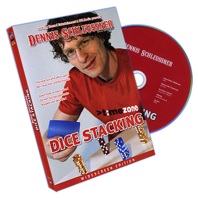 Dice Stacking by Dennis Schleussner - DVD