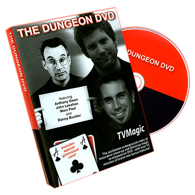 The Dungeon Video by Anthony Owen - DVD