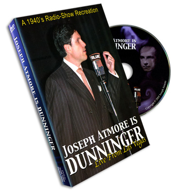Dunninger Radio Show by Joe Atmore - DVD