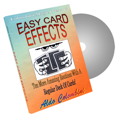 Easy Card Effects by Wild-Colombini Magic - DVD