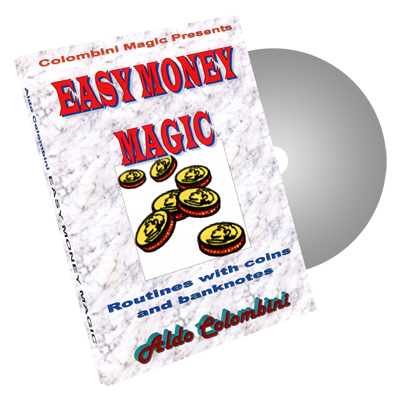 Easy Money Magic by Wild-Colombini Magic - DVD