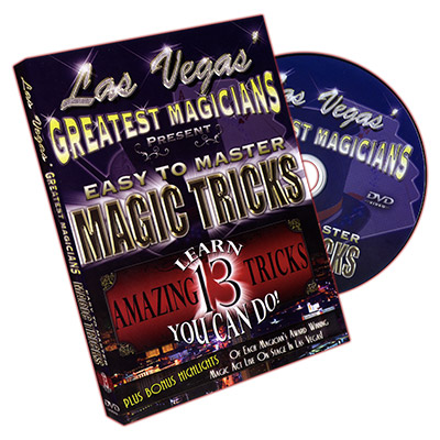 Easy to Master Magic Tricks - Las Vegas Greatest Magicians