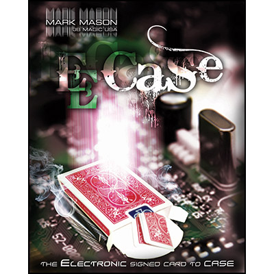 E-Case (Blue) by Mark Mason and JB Magic - DVD