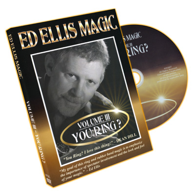You Ring? by Ed Ellis - DVD