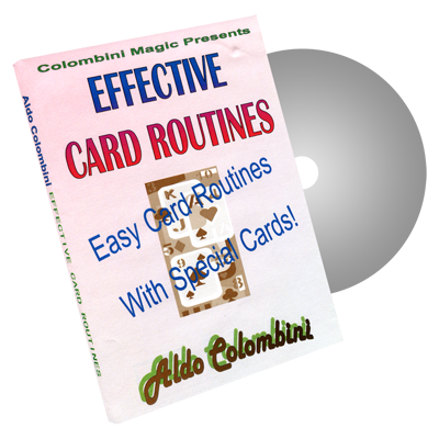 Effective Card Routines by Wild-Colombini Magic - DVD