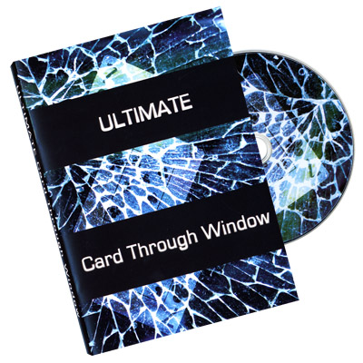 Ultimate Card Through Window DVD - Eric James
