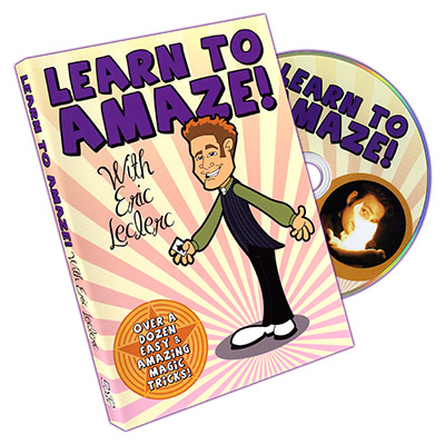 Learn To Amaze by Eric Leclerc - DVD
